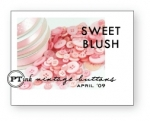 Sweet Blush Vintage Buttons