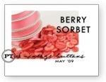 Berry Sorbet Vintage Buttons