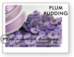 Plum Pudding Vintage Buttons