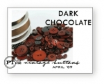 Dark Chocolate Vintage Buttons
