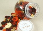 Autumn Mix Vintage Button Collection