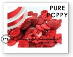 Pure Poppy Vintage Buttons