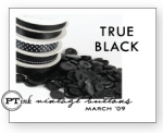 True Black Vintage Buttons