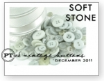 Soft Stone Vintage Buttons