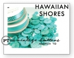 Hawaiian Shores Vintage Buttons