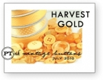 Harvest Gold Vintage Buttons