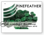 Pinefeather Vintage Buttons