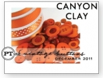 Canyon Clay Vintage Buttons