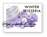 Winter Wisteria Vintage Buttons