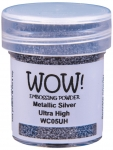Wow Embossing Powder - Metallic Silver Ultra High