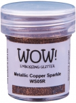 Wow Embossing Powder - Metallic Copper Sparkle