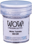 Wow Embossing Powder - White Twinkle